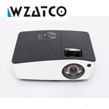 WZATCO Luz de Corto alcance Portable Educación Overhead Proyector DLP 6000 lúmenes HDMI Full HD 1080 p Shuter 3D Video proyectores