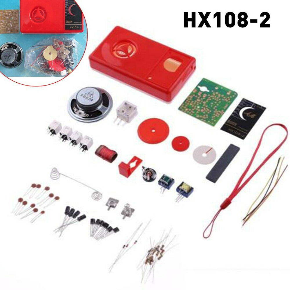 Components 7 Tube AM Radio DIY Kit Learning 525~1605KHZ Assembly Electrical Hot