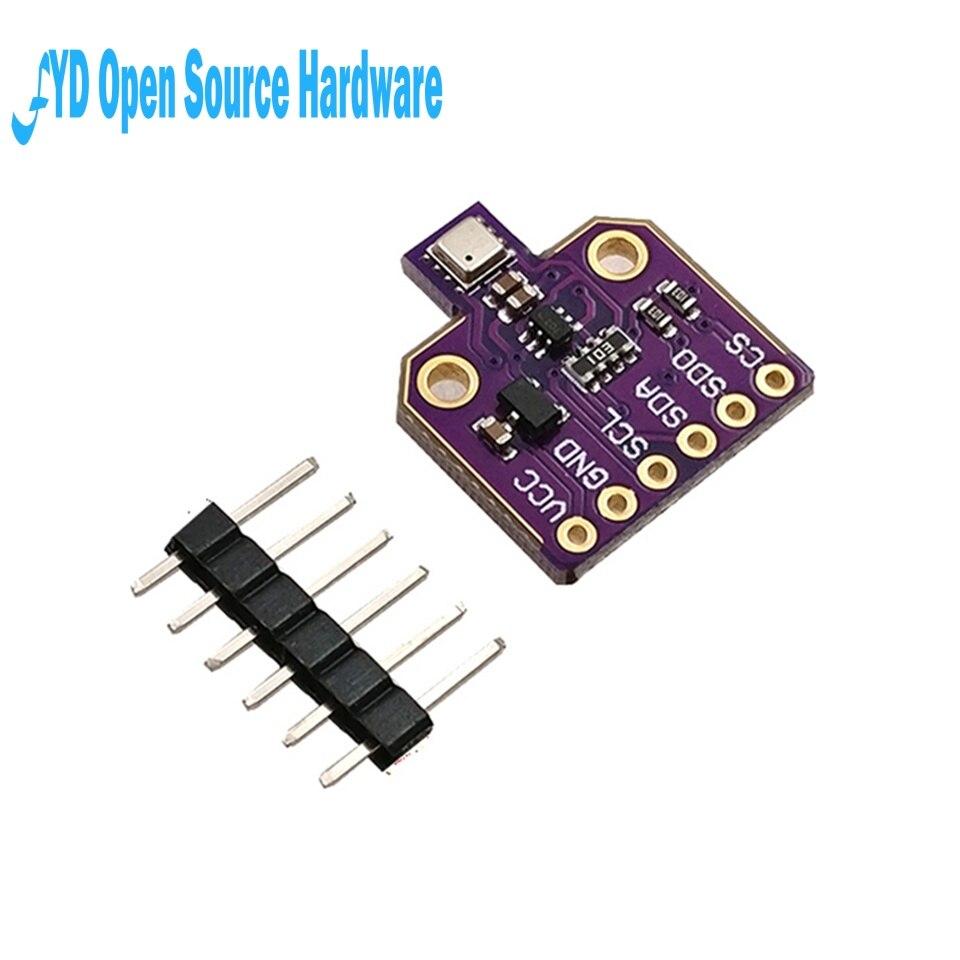 1 pcs BME680 CJMCU-680 Alta Altitude Pressão de Temperatura E Umidade Sensor Digital Sensor de Placa de Desenvolvimento Do Módulo