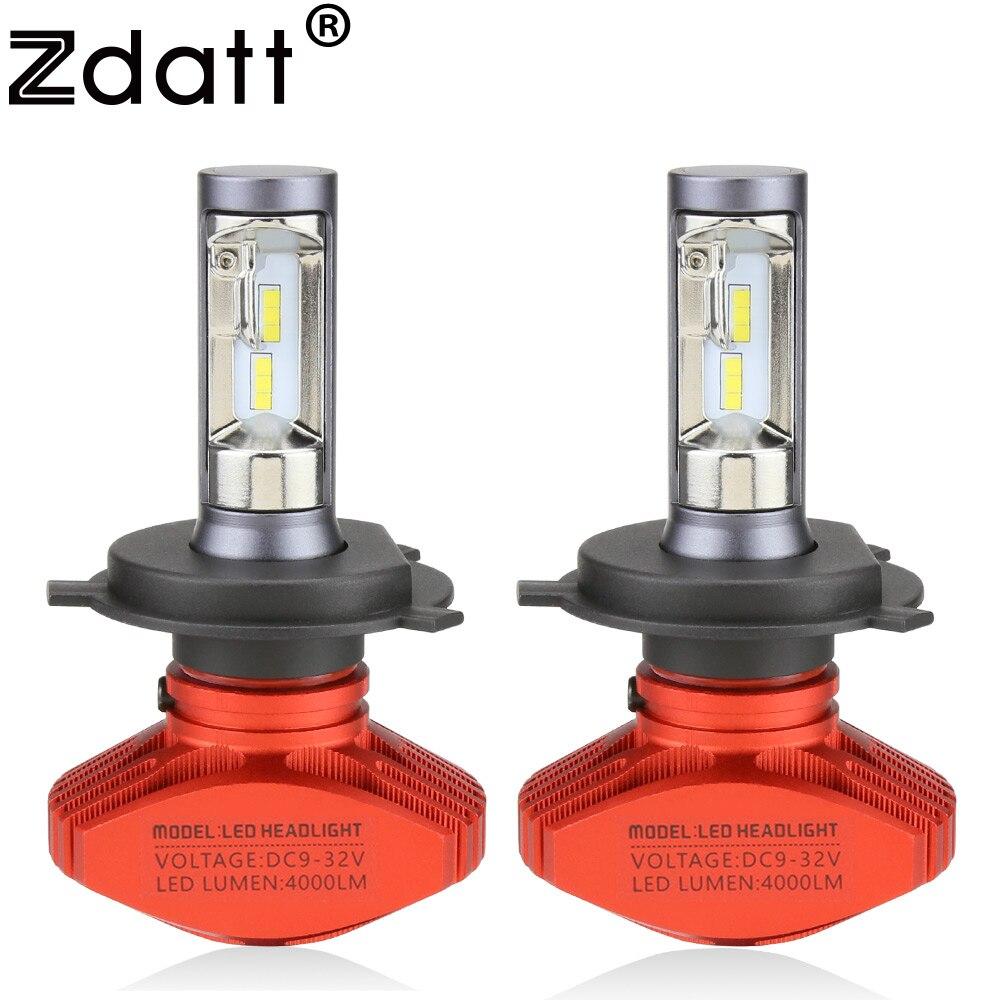 Zdatt Scheinwerfer H4 H7 H8 H9 H11 9005 HB3 9006 HB4 9003 HB2 Led-lampe Auto Licht 12 V 6000 karat 8000Lm 12000Lm COB Led-lampe autos