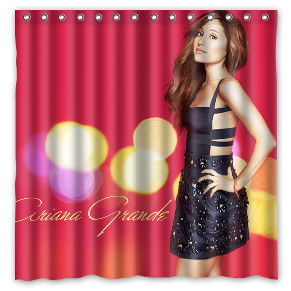 Ariana Grande Pattern Creative Bath Shower Curtains Bathroom ...
