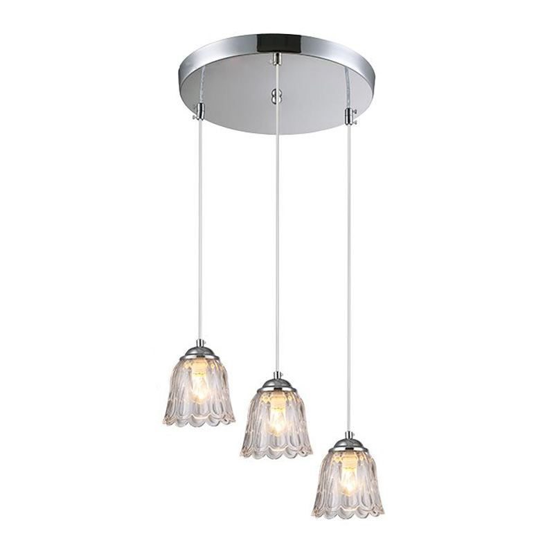 Modern Glass Dining Room Pendant Lights Simple Kitchen