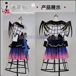 Image 3 - חדש אנימה אהבה לחיות שמש Aqours Yoshiko צושימה ליל כל הקדושים שמלות Cosplay תלבושות מלא קובע