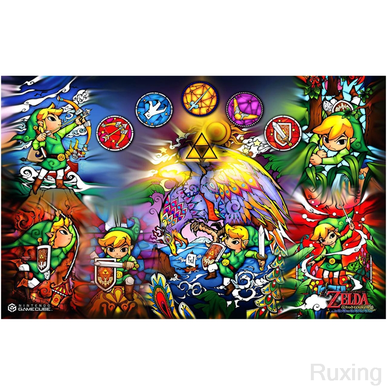 5DDiy Diamond Painting Cross Stitch Game Character Game quot The Legend of Zelda quot Diamond Mosaic Embroidery Children 39 s handmade gifts in Diamond Painting Cross Stitch from Home amp Garden