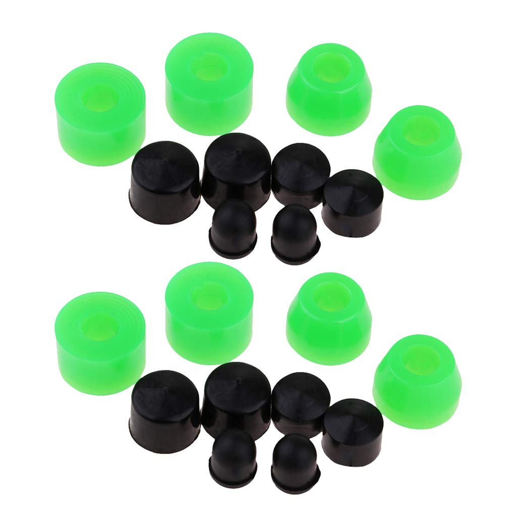 20 Pieces Truck Skateboard Longboard Replacement Bushing Rebuild Set 85A Outdoor Sports