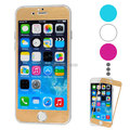 For iPhone 6 Electroplating Brushed Tempered Glass Screen Protector
