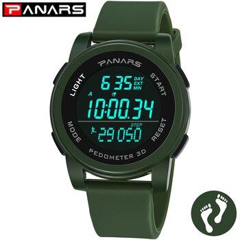 PANARS Watch Men Digital Men's Watches LED WristWatch Mens 5Bar Waterproof Sport Watch Wrist Watches Men Relogio Masculino Wrist
