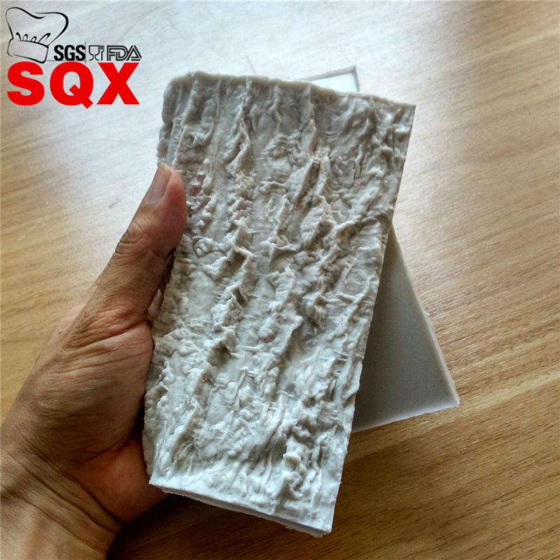 Tree Bark Cake Silicone Mold Fondant Impression Mat Cake Decorating Tools Gumpaste Silicone
