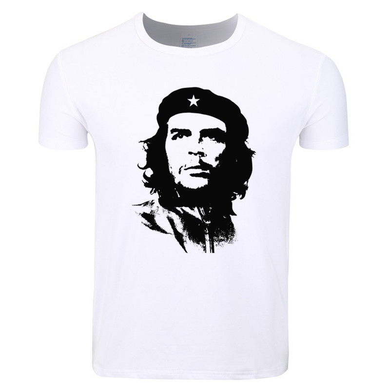 Asian Size Men And Women Print Cuba Great revolutionist Che Guevara T-shirt O-Neck Short Sleeves Summer Casual T-shirt HCP4127