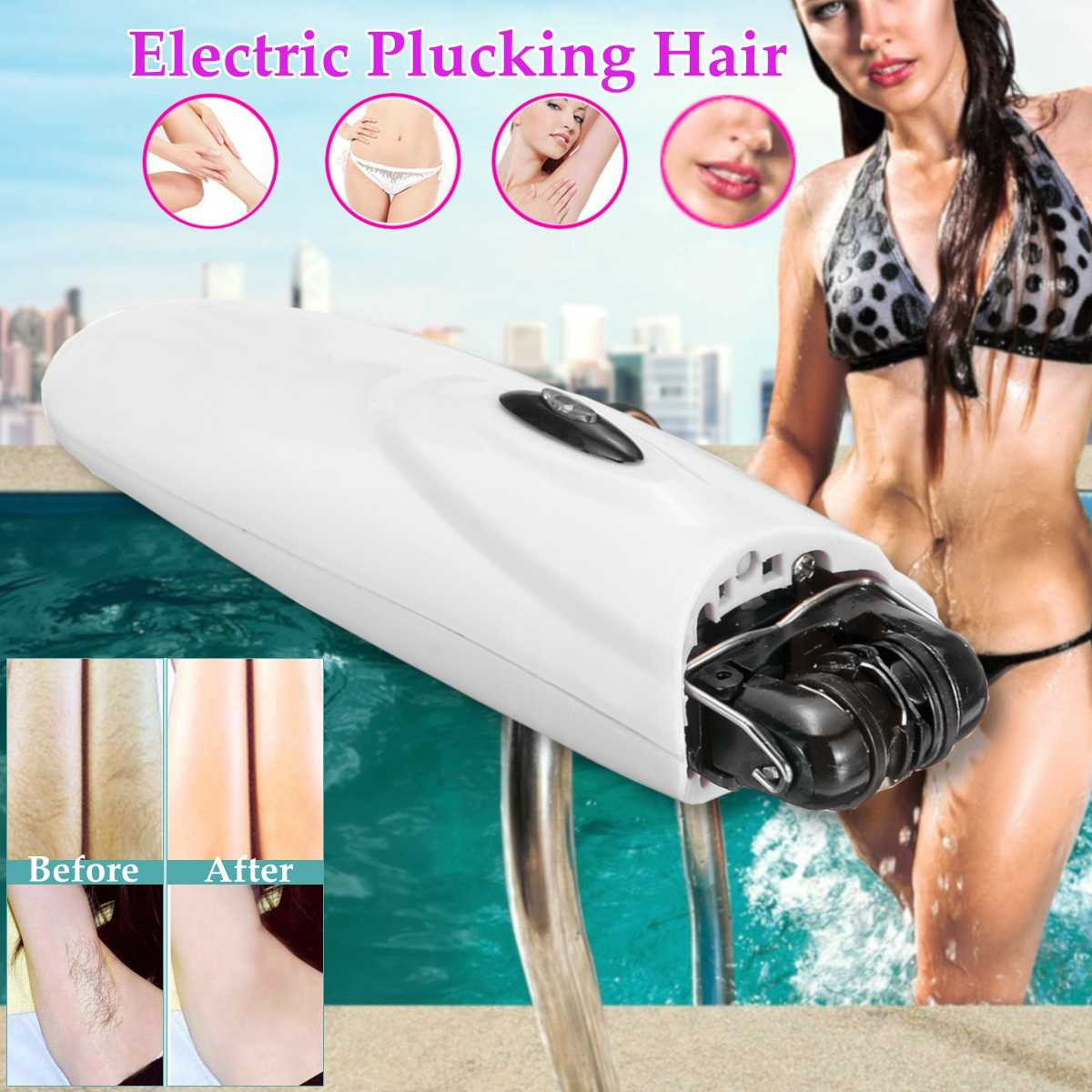 Electric-Epilator Hair-Removal Plucking-Machine Foot-File Rechargeable Women Female