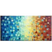100% Hand painted Modern Abstract Impasto Palette Knife Oil Painting On Canvas Wall Art Gift Home Decoration