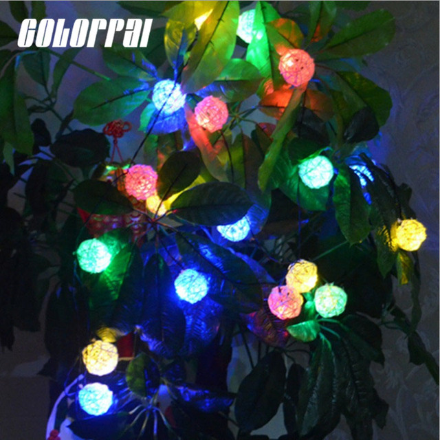 Colorpai 20 led solar string lights outdoor solar energy fairy colorpai 20 led solar string lights outdoor solar energy fairy lights for garden fence christmas tree aloadofball Gallery