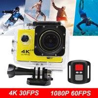 4K Action Camera 1080p 60pfs Sports Mini Camera ARM 16MP CMOS 2.0 Screen 170 Degree EIS LDC WIFI Voice Control