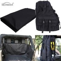 KOLEROADER Car Rear Pet Dog Seat Cover Storage Cargo Trunk Bag Multi Tool Luggage Storage Bags