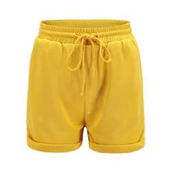 2019 новые женские короткие брюки Горячие Брюки повседневные свободные шорты пляжная Талия Короткие 9-88 брюки женские FS317-1-FS317-9