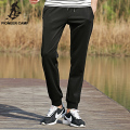 Pioneer Camp Elastic Waist  mean casual pants men Clothing Autumn Thin  Pantalon Homme   Pants Black Loose Man Sweatpants 677053