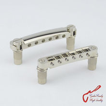 1 Set Nickel GuitarFamily Tune-O-Matic Electric Guitar Bridge And Tailpiece For Epiphone Schecter LTD  MADE IN KOREA