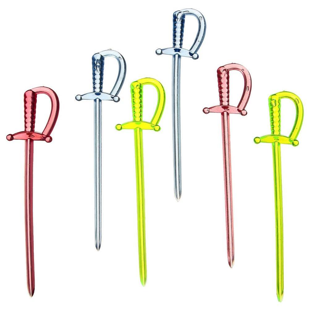 Фруктовые палочки для коктейлей, 100 шт.
