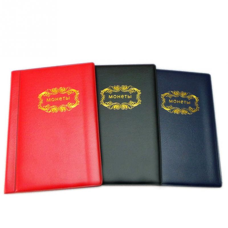 Wallet Album-Storage Size-Coin-Holders Hard-Currency-Protection Russian Mini Home