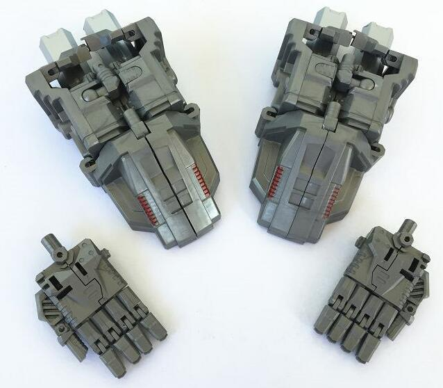 PE IDW Upgrade Set Foot palm Kit For Menasor Superion Bruticus classic toys for boys gift action figure