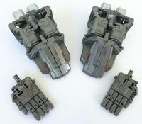 PE IDW Upgrade Set Voet palm Kit Voor Menasor Superion Bruticus klassieke speelgoed voor jongens gift action figure