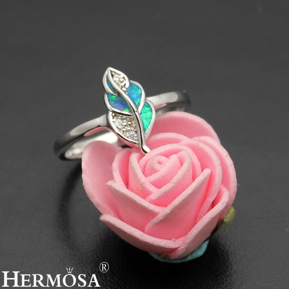 Lucky Leaf Wedding Jewelry Mystic Fire Australian Opal 925 Sterling ...