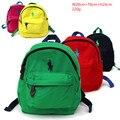 Famosa marca polo mochila para crianças meninas meninos da lona pequenos sacos de escola saco mochilas arnês bebê mochila escolar infantil