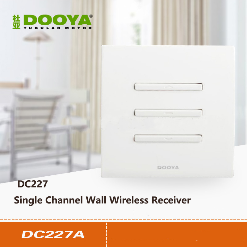 Dooya Receiver Single-channel/dual-channel Tubular Motor, Opening And Closing Motor Receiver DC227A DC228A Wall-mounted Receiver