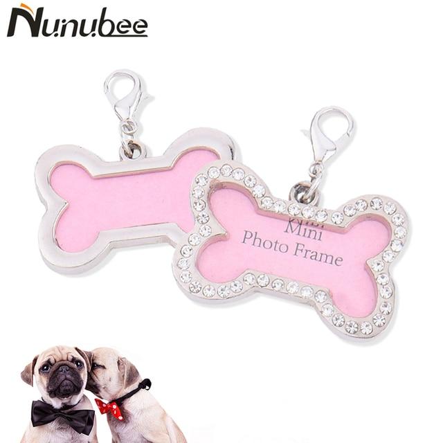 Nunubee mascotas accesorios etiqueta de identificación para el perro ...
