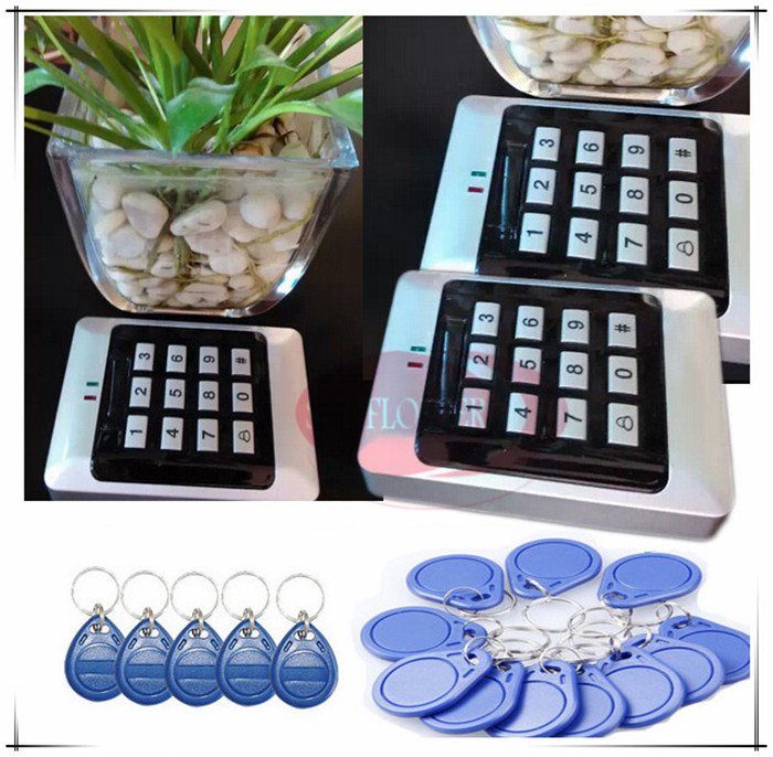Brand New Alarm function Entrance guard RFID Reader Access Control Keypad, Support Card, Password, Card + Password unlocking metal shell touch keyboard 125khz rfid access control system entrance guard password and rfid 10pcs crystal keyfob