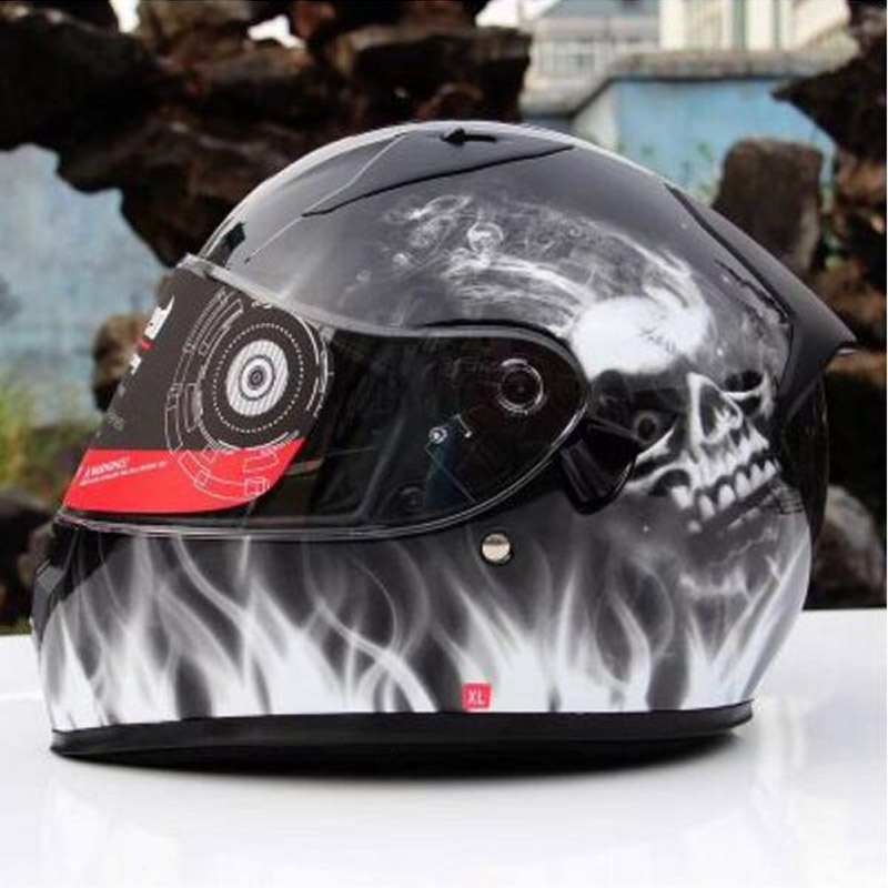 Tanked Racing Full face Motorcycle Helmet ABS T129 Warm Double lenses motorbike helmet with collar knight protective equipment марина цветаева после россии