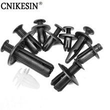 CNIKESIN 1Pcs Universal Auto Fastener Car Door bumper Cover Screw Interior Clip Plastic Car fastener Push Type Fixed clamp(China)