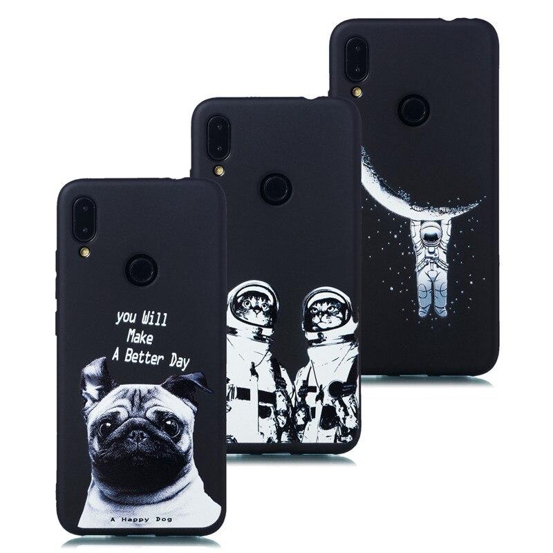 Phone Case For Xiaomi Redmi Note7 Case Soft Silicone TPU Cute Cat Painted Back Cover For Xiaomi Redmi Note7 Case For Redmi Note7 (3)