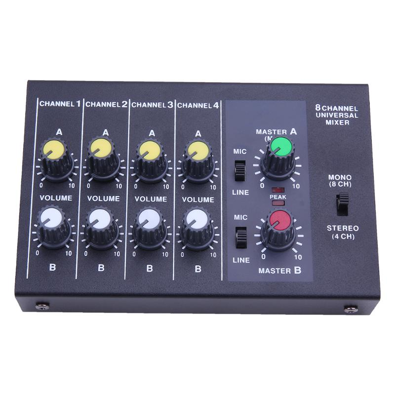 Promotion! 150W 6 Channels Mixing Console Karaoke Digital Mic Line Audio Power Mixer Effective Mixing Console for DJ Stage promotion 150w 6 channels mixing console karaoke digital mic line audio power mixer effective mixing console for dj stage