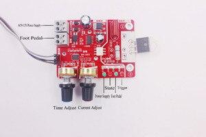 Image 3 - Spot Saldatori Scheda di controllo 40A display digitale tempo di saldatura a punti e corrente del pannello di controllo di temporizzazione Amperometro NY D01