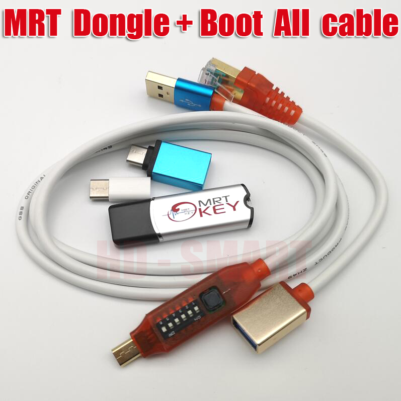 Latest MRT Dongle 2  MRT Key Mobile Repairing Tools  All Boot Cable EASY SWITCHING Micro USB To Type-C Adapter
