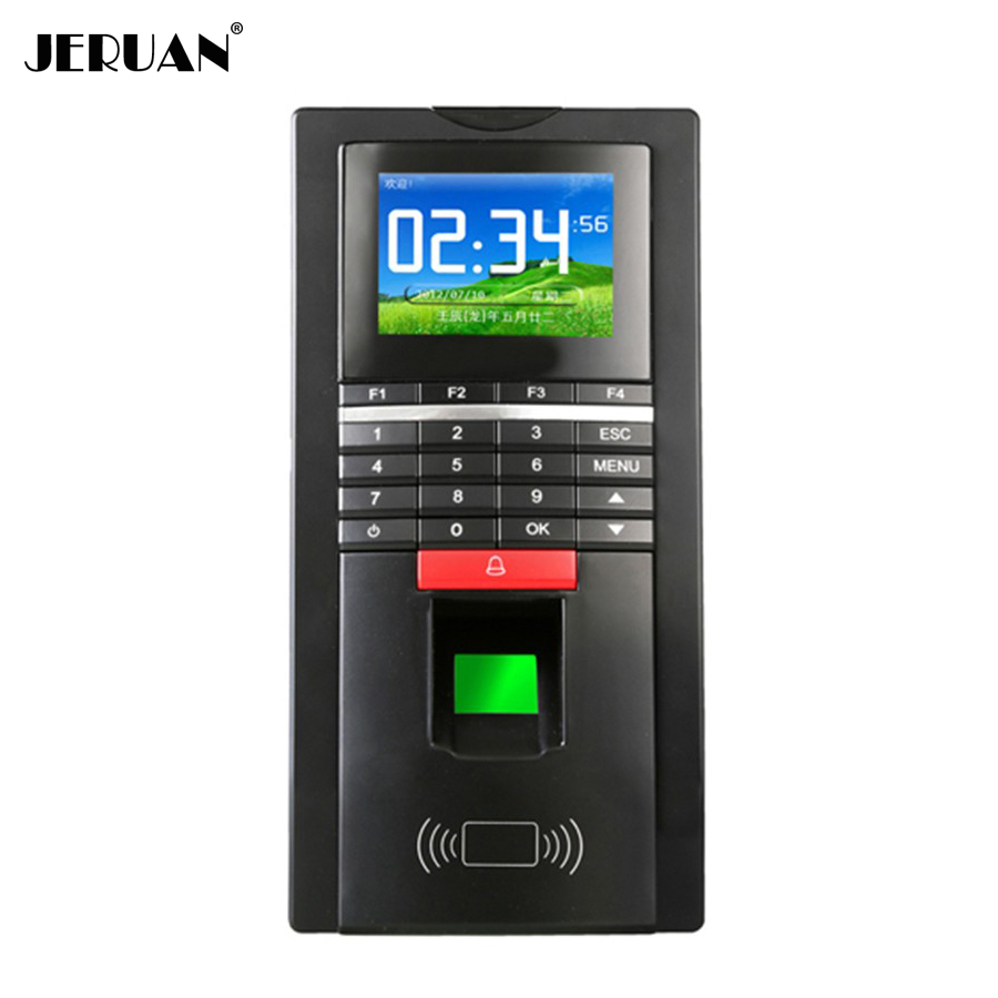 NEW High Security M-F131 Color Fingerprint Access Control System Time Clock Attendance ID Card Reader TCP/IP + USB FREE SHIPPING biometric fingerprint access controller tcp ip fingerprint door access control reader