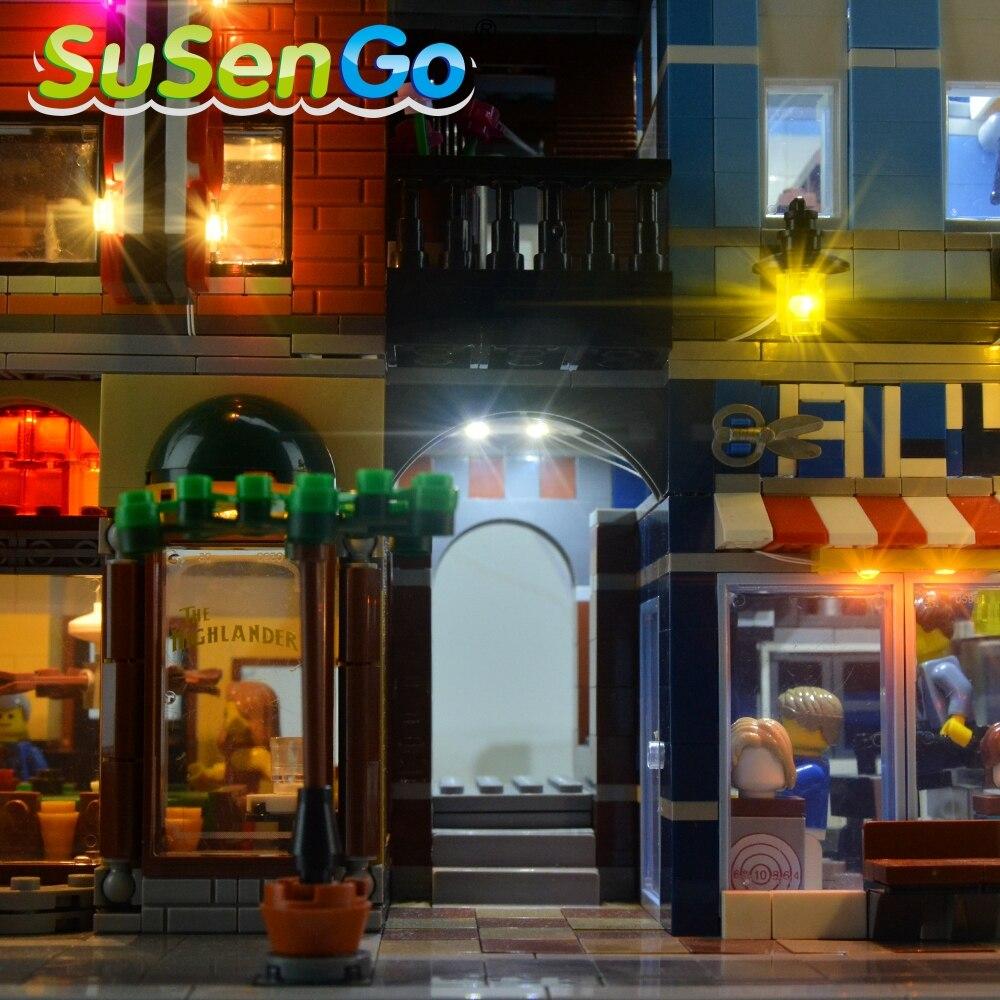 Kit d'éclairage SuSenGo LED pour l'ensemble d'éclairage de bureau - Concepteurs et jouets de construction - Photo 6