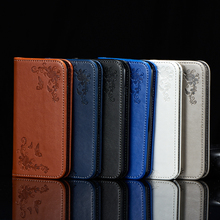 Leather Case For Huawei Y3 II Flip Cover for Huawei Y3ii 2 W