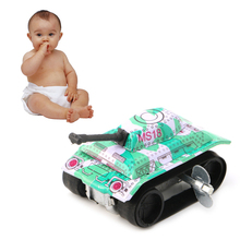 Новинка дети дети винтаж олово игрушки трение бак современный заводной механизм игрушка подарок