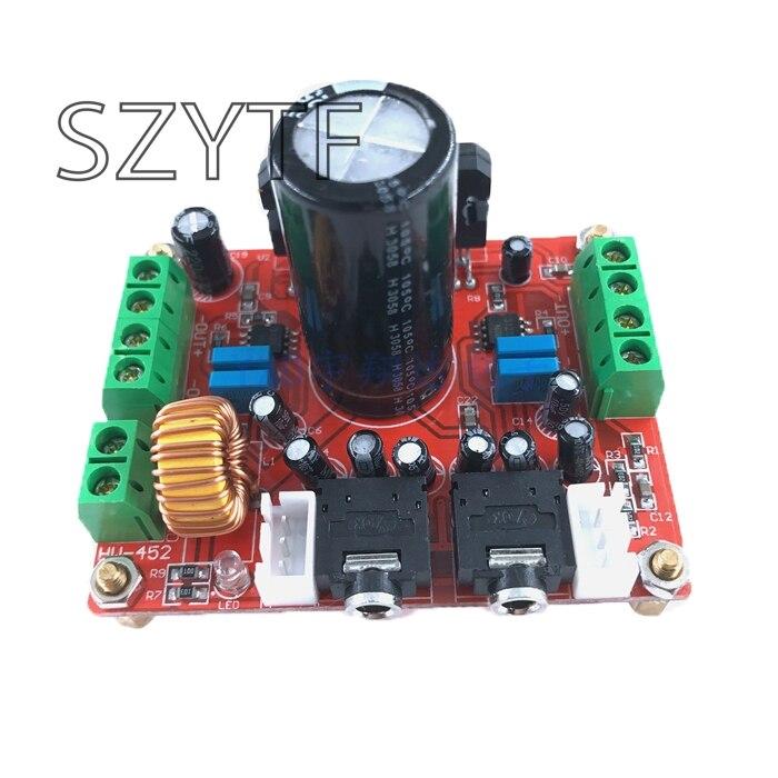 Fièvre classe TDA7850 amplificateur de puissance conseil 4 canaux voiture amplificateur de puissance conseil 4X50 W avec BA3121 réduction du bruit