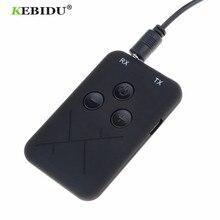 Kebidu 3.5 مللي متر الصوت سماعة لاسلكية تعمل بالبلوتوث جهاز ريسيفر استقبال وإرسال محول 2 في 1 ستيريو الصوت الموسيقى كابل محول للتلفزيون مكبر صوت للسيارة