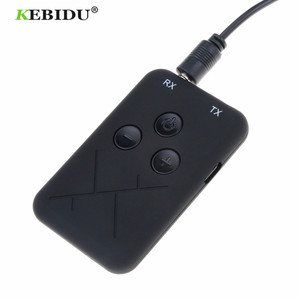Image 1 - Kebidu 3.5mm Audio Wireless Bluetooth Transmitter Receiver Adapter 2 in 1 Stereo Audio Music Adapter Cable for TV Car Speaker