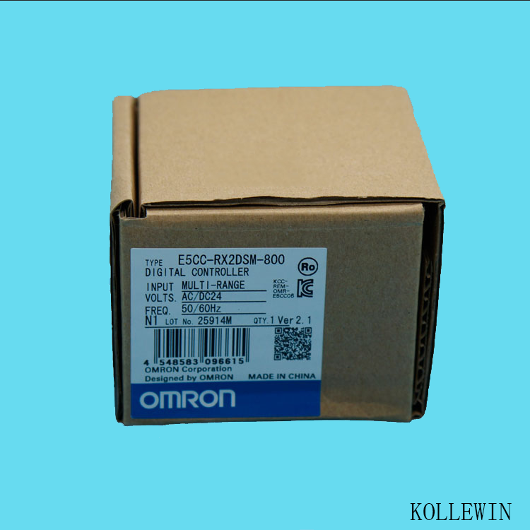 E5CC-RX2DSM-800 OMR Temperature Controller, E5CCRX2DSM800 Sensor NEW in Box, E5CC QX2DSM 800 dtb4848cr delta temperature controller new in box