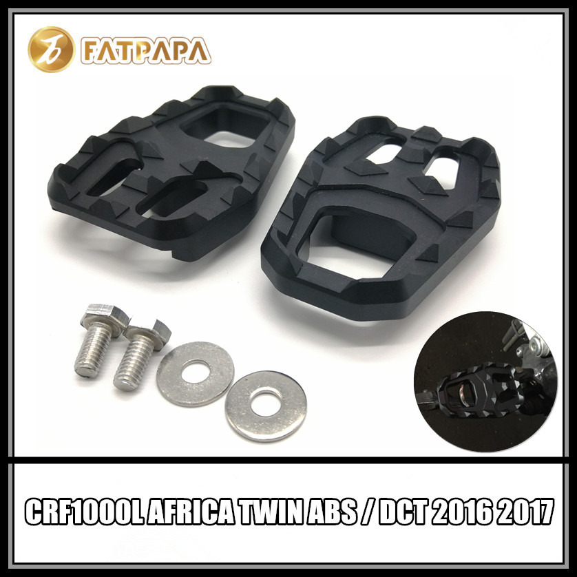 Free shpping Motorcycle Accessories Front Stops Up Fit For Honda CRF1000L Africa Twin ABS / DCT 2016 2017 maisto 1 18 honda africa twin dct crf1000l motorcycle bike diecast model toy new in box