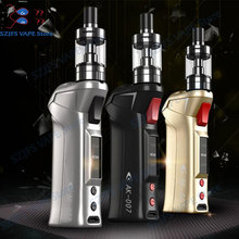 SUBTWO AK-007 70W Vapor Kit with  510 Thread 2ml Atomizer Target Pro VTC tank mod vs LED display Electronic Cigarette