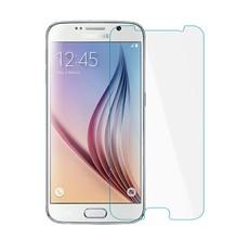 pelicula de vidro explosion proof 0.3mm tempered glass HD clear phone guard film on smartphone ecran screen for samsung s6 g9200
