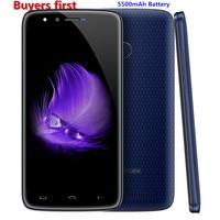 Original HOMTOM HT50 Fingerprint Smartphone MT6737 Quad Core Android 7 0 3GB RAM 32GB ROM 5