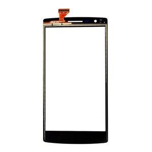 Image 2 - Para OnePlus One Replacemen LCD pantalla táctil de cristal digitalizador 1 + un Color negro pantalla táctil Out Lens