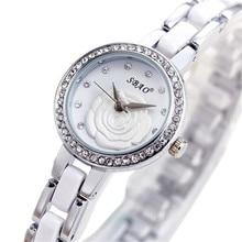 4 Типы Водонепроницаемый Повседневная Часы Женщины Кристалл Ободок Серебряный Циферблат Имитация Керамический Браслет Кварцевые Наручные Часы Relogio Feminino